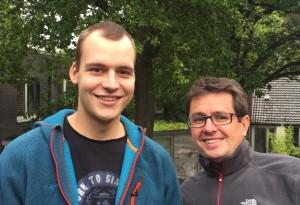 Jens Pauschert und Thomas Sablotny (r.)