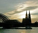 Abendhimmel über Köln