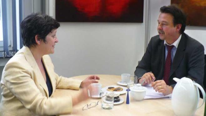 Roswitha Müller-Piepenkötter im Gespräch mit Klaus Kelle