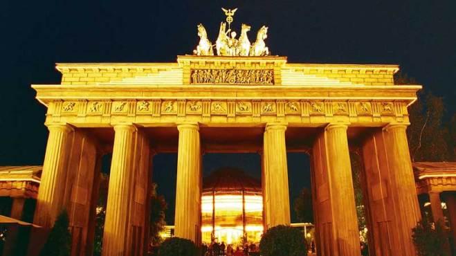 Phantasialand Nachbau Brandenburger Tor